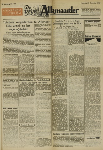 De Vrije Alkmaarder 1947-12-22
