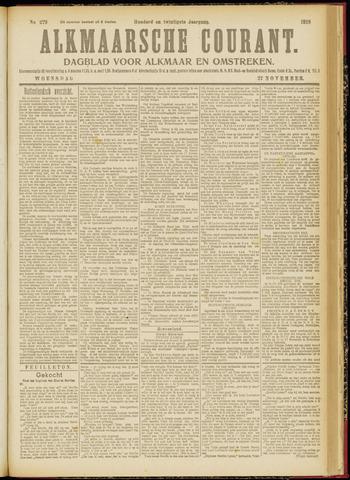 Alkmaarsche Courant 1918-11-27