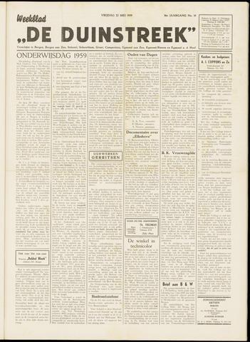 De Duinstreek 1959-05-22