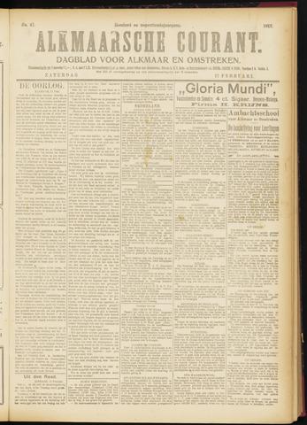 Alkmaarsche Courant 1917-02-17