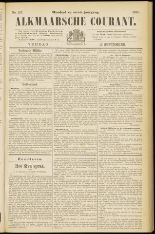 Alkmaarsche Courant 1899-09-15