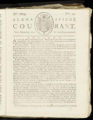 Alkmaarsche Courant 1809-06-12