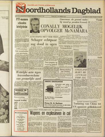 Noordhollands Dagblad : dagblad voor Alkmaar en omgeving 1967-11-29