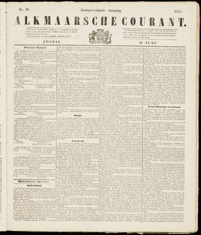Alkmaarsche Courant 1874-06-28