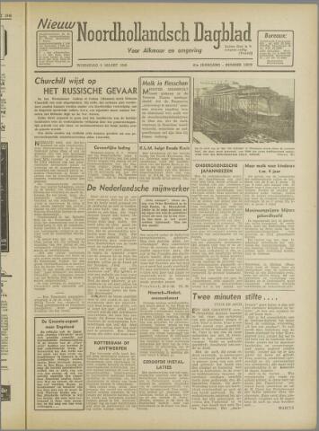 Nieuw Noordhollandsch Dagblad : voor Alkmaar en omgeving 1946-03-06