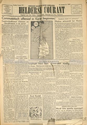 Heldersche Courant 1951