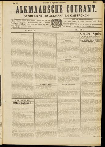 Alkmaarsche Courant 1913-07-22