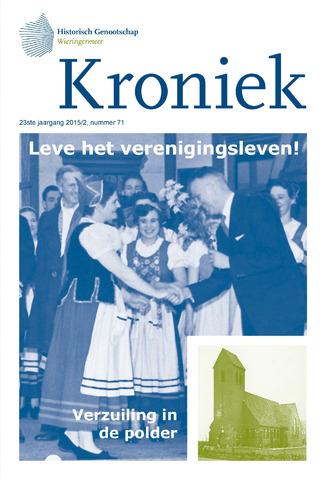 Kroniek Historisch Genootschap Wieringermeer 2015-08-01