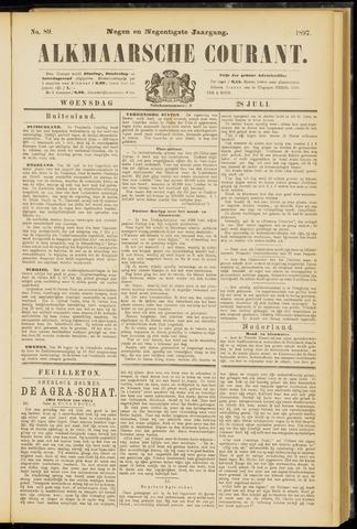 Alkmaarsche Courant 1897-07-28