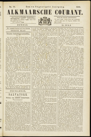 Alkmaarsche Courant 1889-07-14