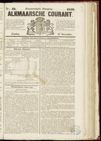 Alkmaarsche Courant 1859-11-27