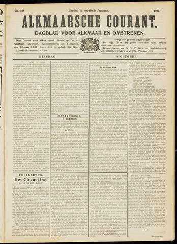 Alkmaarsche Courant 1912-10-08