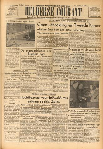 Heldersche Courant 1952-08-01