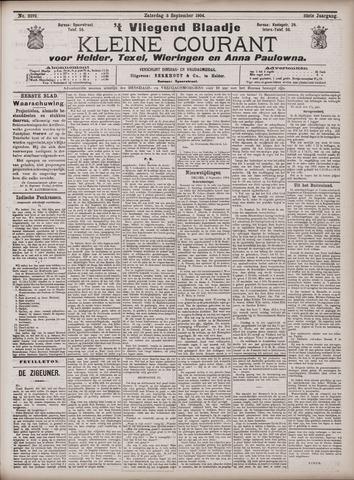 Vliegend blaadje : nieuws- en advertentiebode voor Den Helder 1904-09-03