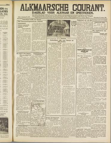 Alkmaarsche Courant 1941-10-22