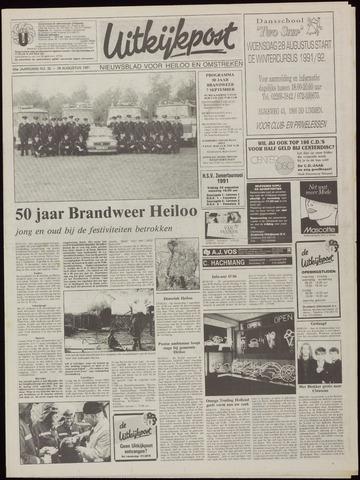 Uitkijkpost : nieuwsblad voor Heiloo e.o. 1991-08-28