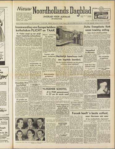 Nieuw Noordhollandsch Dagblad : voor Alkmaar en omgeving 1952-08-02
