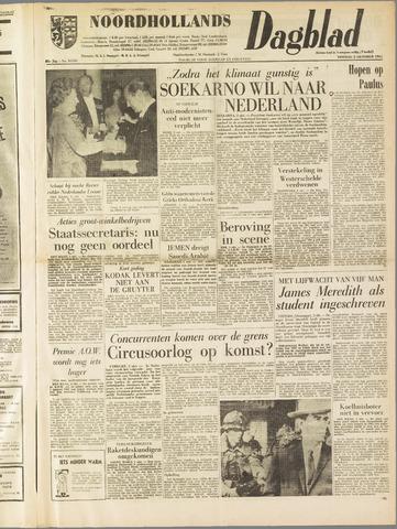 Noordhollands Dagblad : dagblad voor Alkmaar en omgeving 1962-10-02