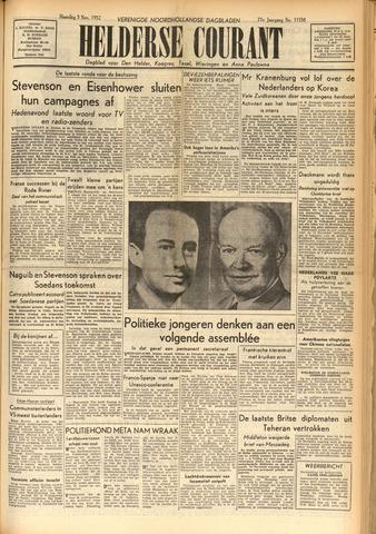 Heldersche Courant 1952-11-03