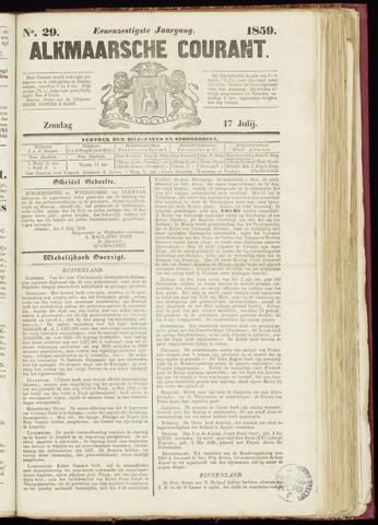 Alkmaarsche Courant 1859-07-17