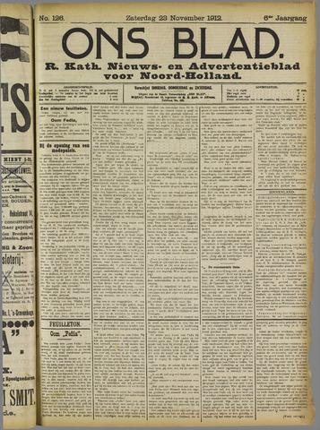 Ons Blad : katholiek nieuwsblad voor N-H 1912-11-23