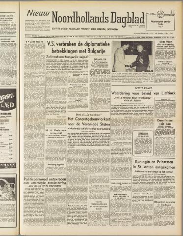 Nieuw Noordhollandsch Dagblad : voor Alkmaar en omgeving 1950-02-22