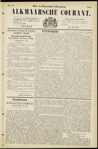 Alkmaarsche Courant 1891-06-28
