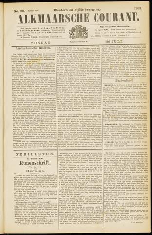 Alkmaarsche Courant 1903-07-26