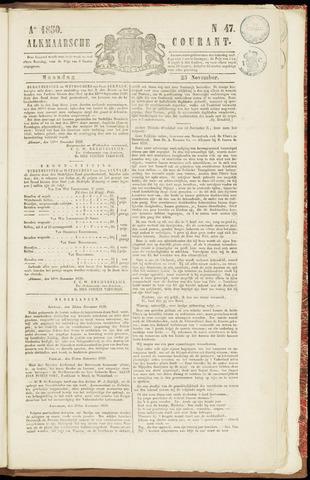 Alkmaarsche Courant 1850-11-25