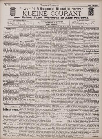 Vliegend blaadje : nieuws- en advertentiebode voor Den Helder 1904-11-23