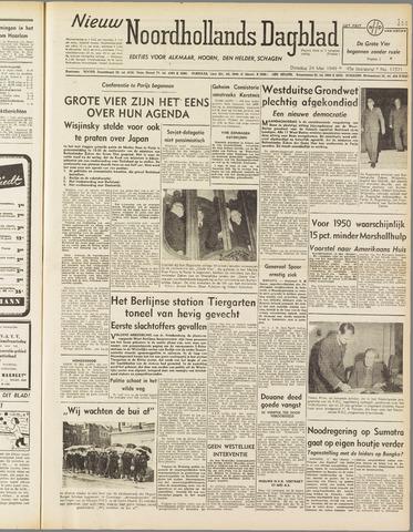 Nieuw Noordhollandsch Dagblad : voor Alkmaar en omgeving 1949-05-24