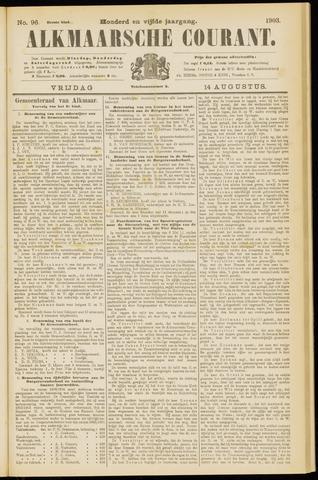 Alkmaarsche Courant 1903-08-14