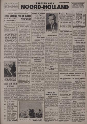 Dagblad Noord-Holland, Schager editie 1942-12-19