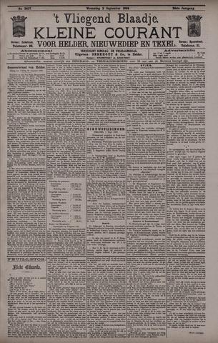 Vliegend blaadje : nieuws- en advertentiebode voor Den Helder 1896-09-02