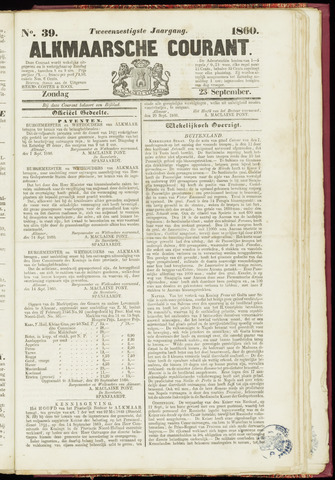 Alkmaarsche Courant 1860-09-23
