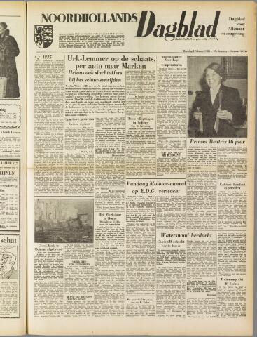 Noordhollands Dagblad : dagblad voor Alkmaar en omgeving 1954-02-01