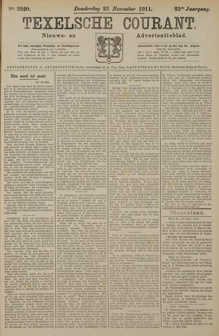 Texelsche Courant 1911-11-23