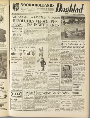 Noordhollands Dagblad : dagblad voor Alkmaar en omgeving 1961-11-28