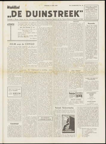De Duinstreek 1955-09-16