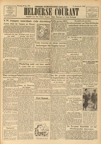 Heldersche Courant 1950-08-23