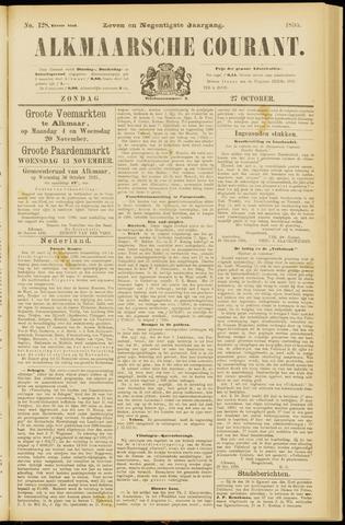 Alkmaarsche Courant 1895-10-27