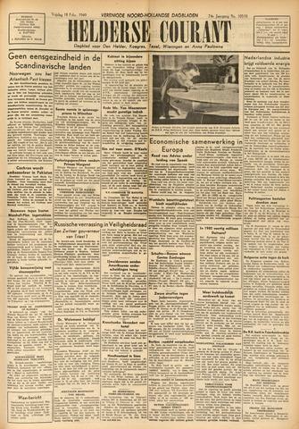 Heldersche Courant 1949-02-18