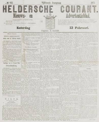 Heldersche Courant 1875-02-13