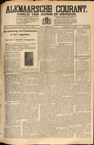 Alkmaarsche Courant 1939-08-25