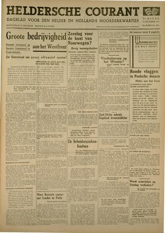 Heldersche Courant 1939-09-26