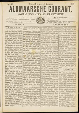 Alkmaarsche Courant 1905-09-01