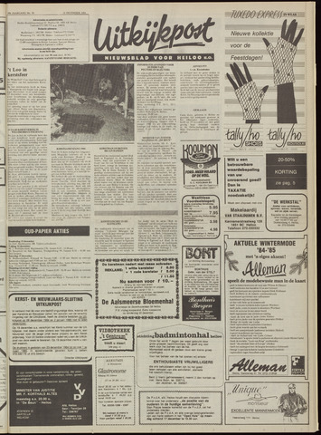 Uitkijkpost : nieuwsblad voor Heiloo e.o. 1984-12-12