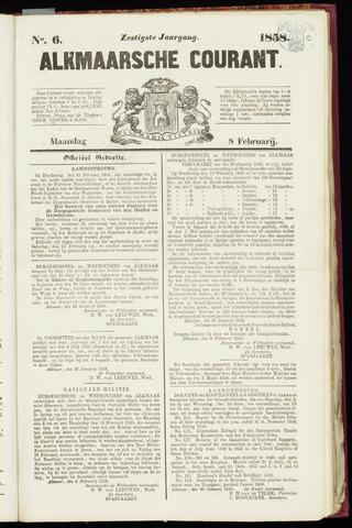 Alkmaarsche Courant 1858-02-08