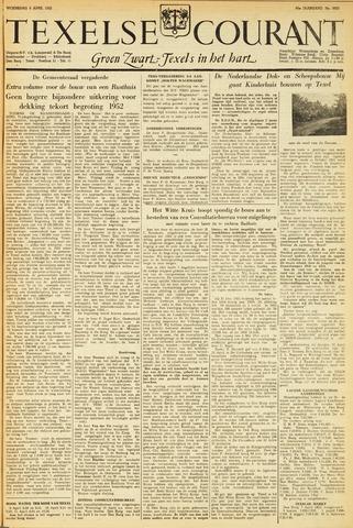 Texelsche Courant 1952-04-09