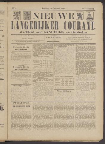 Nieuwe Langedijker Courant 1895-01-13